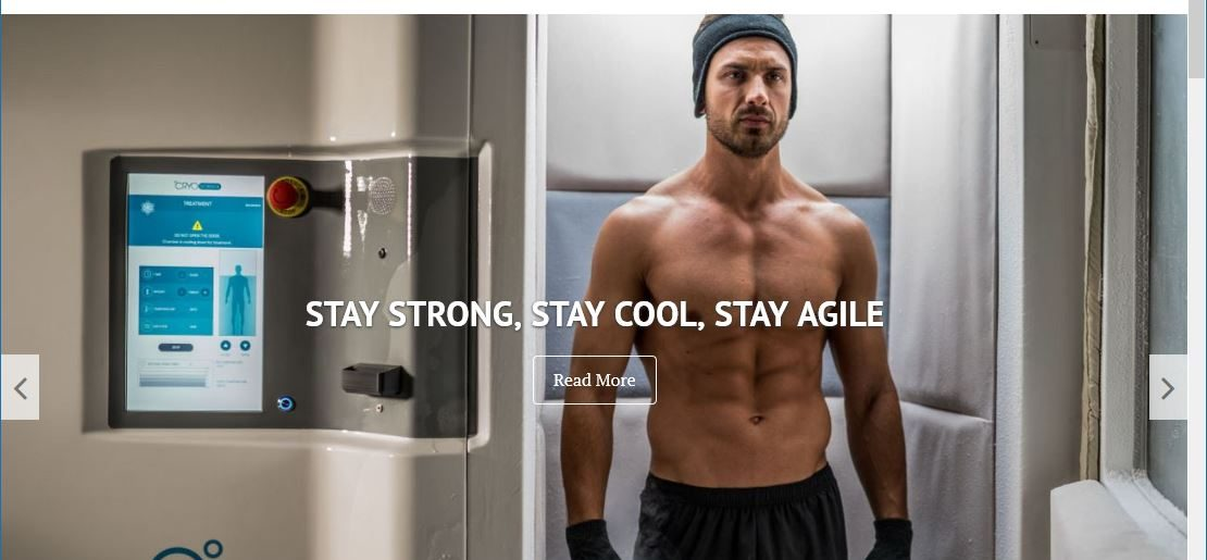 New Cryo Therapy Website