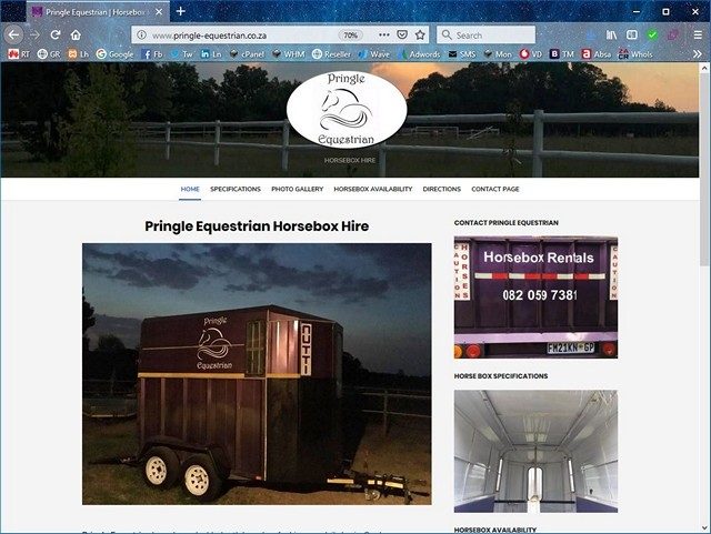 Pringle Equestrian Horsebox Hire